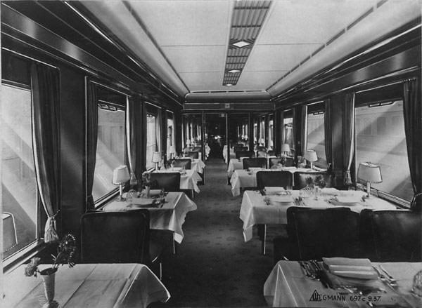 Hitlers Railway Dining Car Fork Reichsbahn Silverware