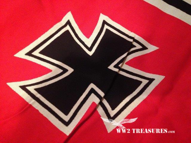 German Kriegsflagge (Kriegsmarine Flag) 80 X 135 - World War