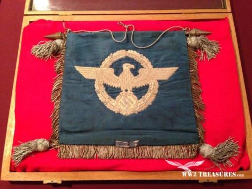 Nazi Schellenbaum Banner