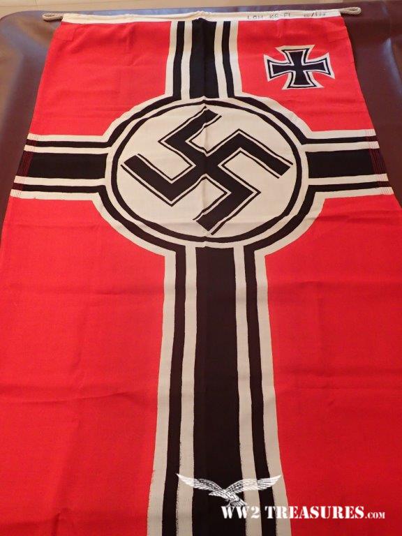 German kriegsflagge (Kriegs Flag) LOH 80 X 135 - World War 2