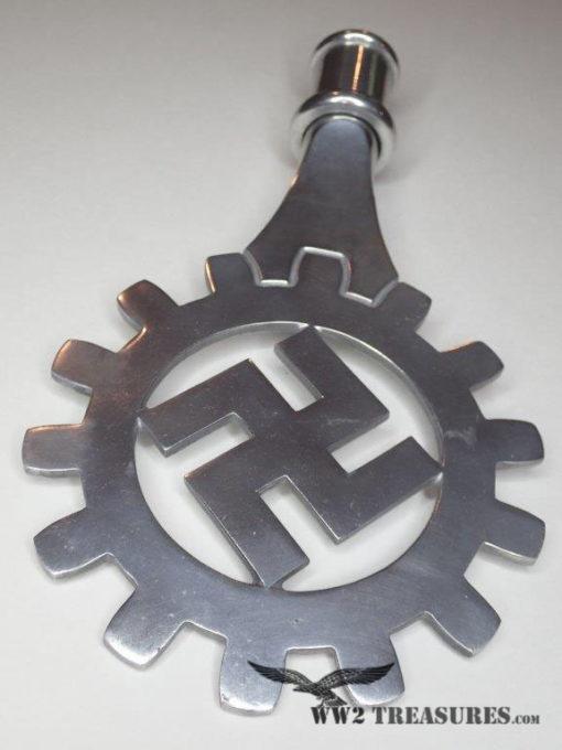 Nazi DAF Flag Pole Topper