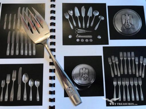 Adolf Hilter Silverware