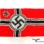 German kriegsflagge (Kriegs Flag) LOH 80 X 135